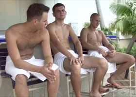 Evan, Blake and Jacques