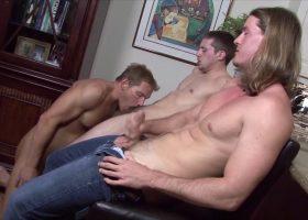 Alex, Luke and Kip